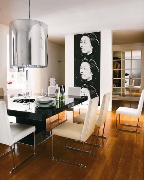 Comedor diseño moderno en Madrid