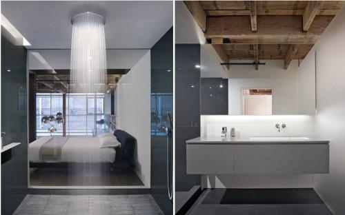 Baño de diseño moderno