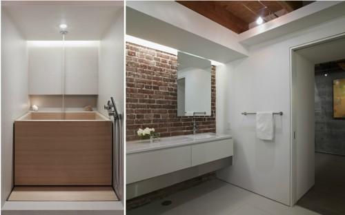Loft moderno: baño