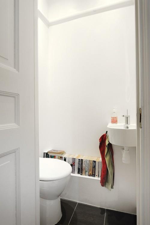Baño moderno apartamento
