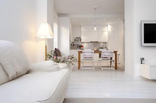 Cocina moderna apartamento