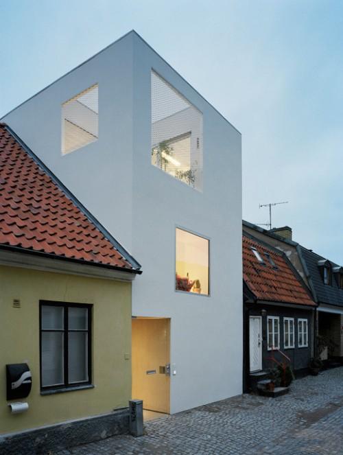 Exterior moderno casa en estilo loft