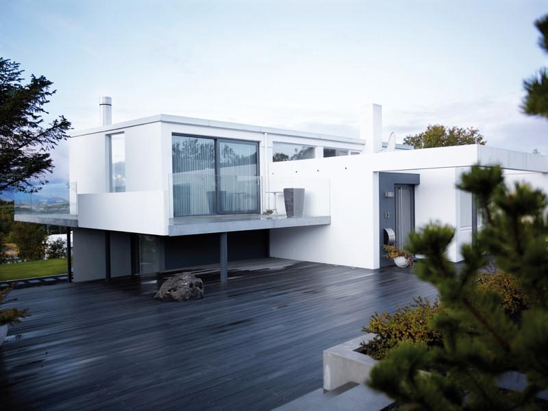 Dise o de interiores de casas modernas un hogar en reykjavik for Diseno de casas pequenas exteriores
