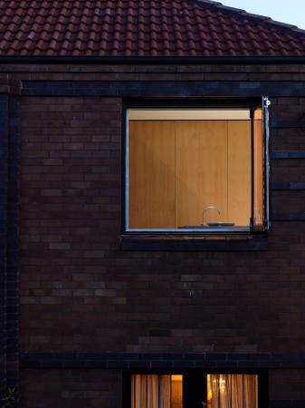 Vista exterior ventana cocina