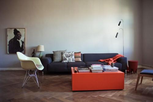 Decoración de departamentos modernos: living