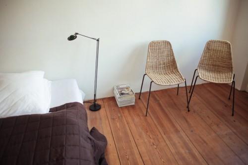 Dormitorio principal en estilo moderno
