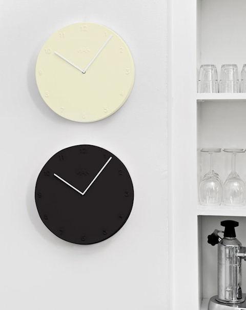 Objetos minimalistas: reloj Ora Kahler