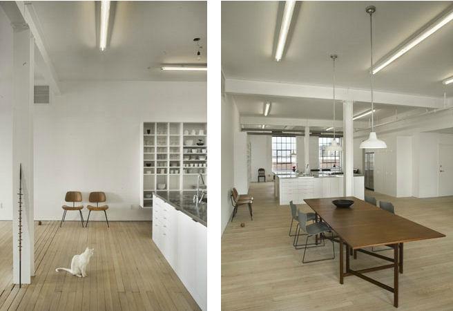 Loft minimalistas hoeber loft de qb3 design for Casa minimalista uy