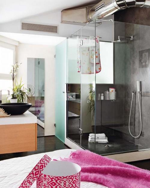 Box de ducha moderno