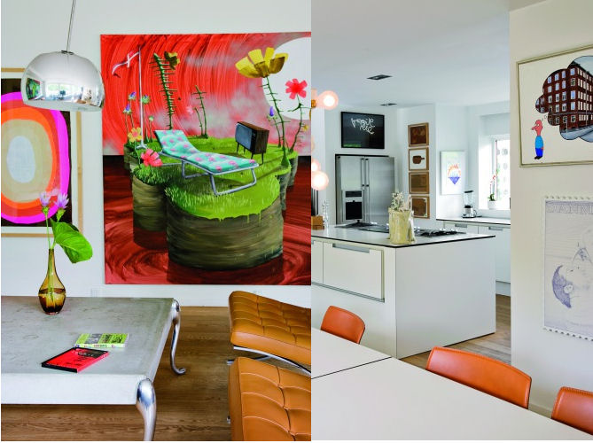 Decorar con arte y colores
