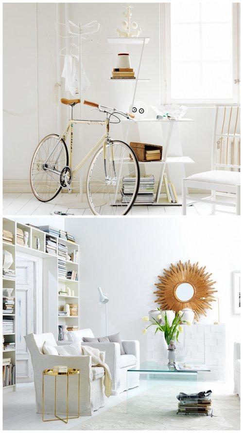 Interiores blancos