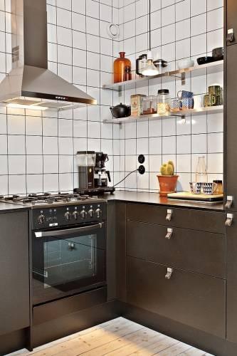 Cocina departamento pequeño 5