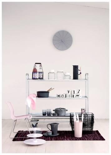 Colores de interiores modernos: rosa y gris 4