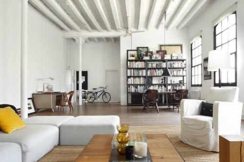 Loft moderno estilo industrial
