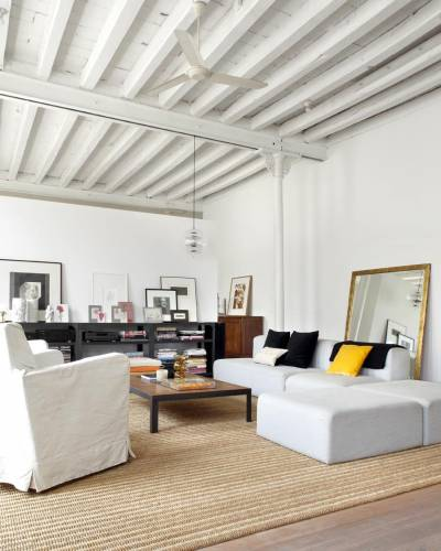 Living moderno industrial