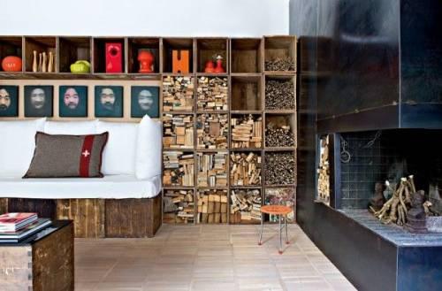 Decoración de lofts: loft retro