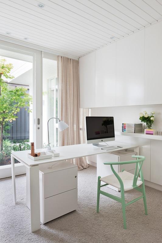 Casa moderna y minimalista con detalles en colores pastel for Casa moderna wallpaper