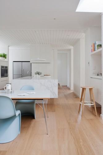 Cocina y comedor diario integrados