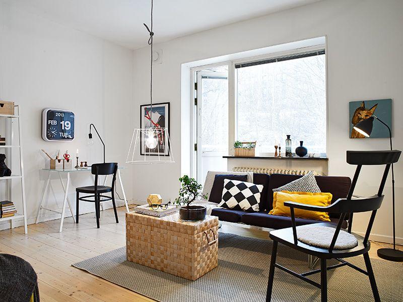 Decorar monoambientes peque o funcional y bien distribuido for Ideas para decorar ambientes pequenos