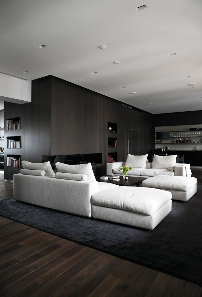 Departamento con diseño de interiores contemporáneo 1