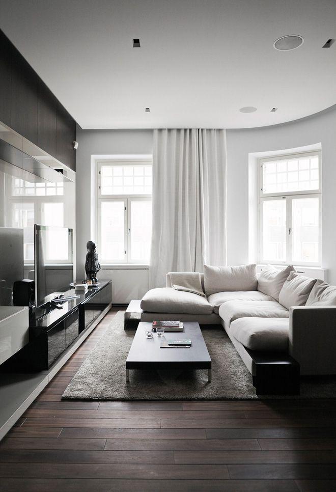Departamento con diseño de interiores contemporáneo 2