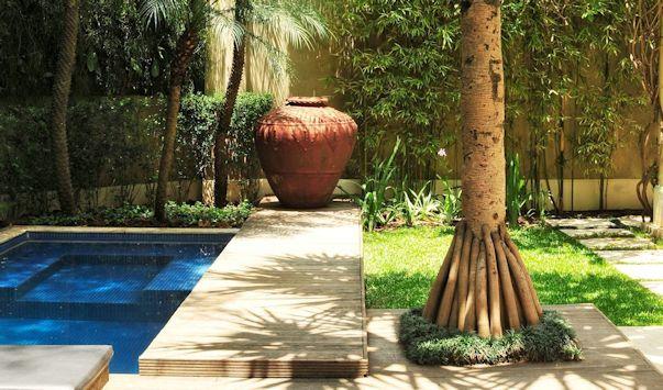 Jardines pequeños tropicales