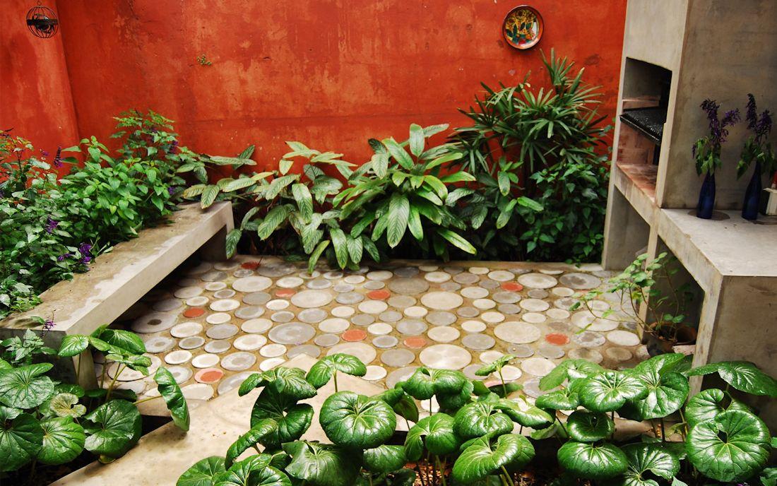 Jard n urbano en barracas buenos aires for Jardines exteriores pequenos