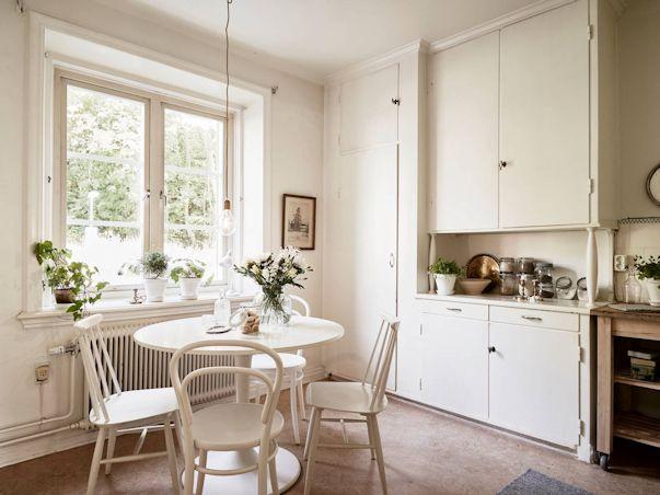 Monoambiente con decoración nórdica vintage 7