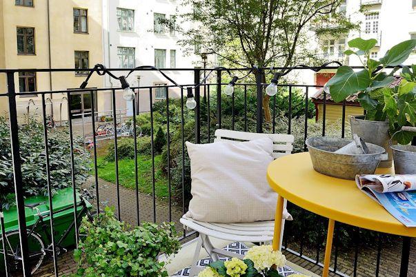 Balcón del monoambiente
