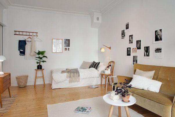 Decorando un monoambiente con muebles vintage 6