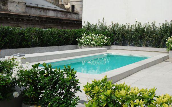 Terrazas modernas con pileta 1