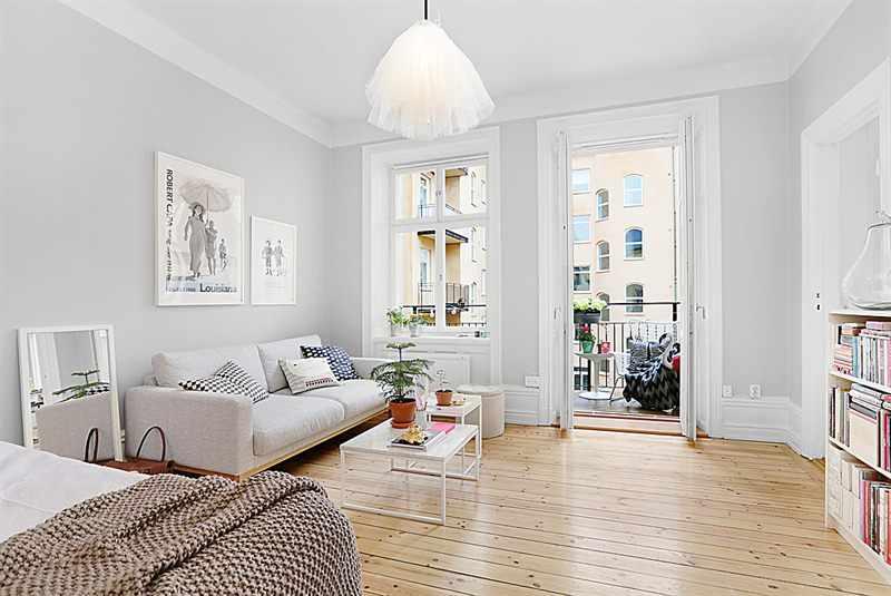 Monoambientes acentos de color en la decoraci n for Decoracion living departamento 2 ambientes