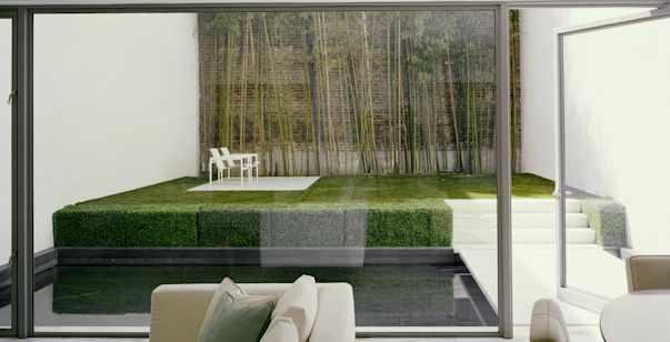 Diseño de exteriores: Jardín minimalista 2