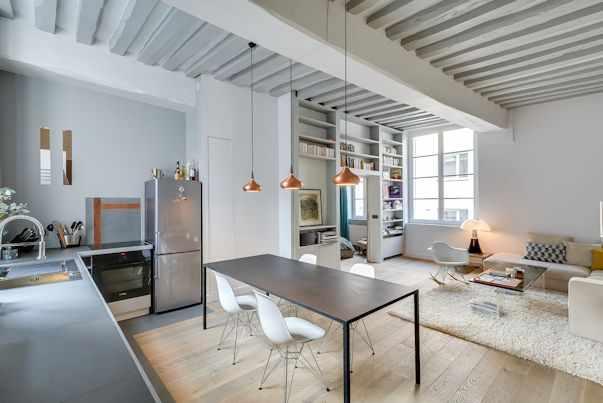 Diseño de interiores contemporáneo en un departamento de 50 metros 3