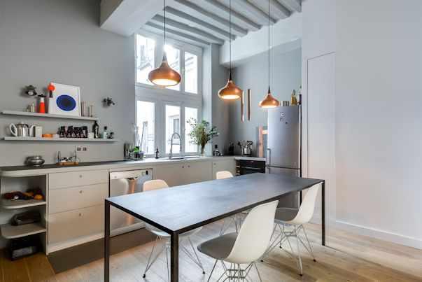 Diseño de interiores contemporáneo en un departamento de 50 metros 4