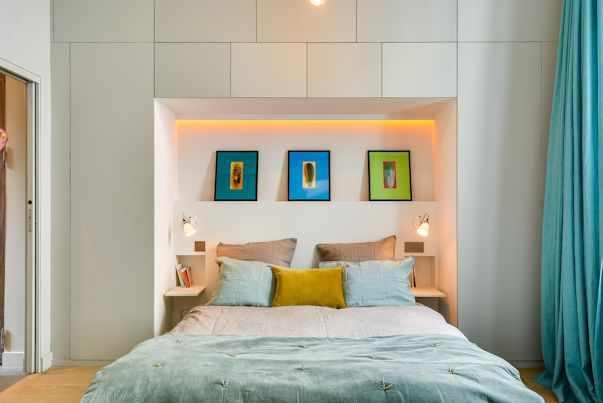 Diseño de interiores contemporáneo en un departamento de 50 metros 5