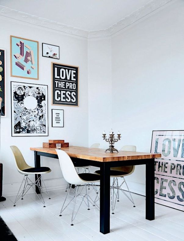 Arte y cuadros en la decoración de un depto de 3 ambientes 2