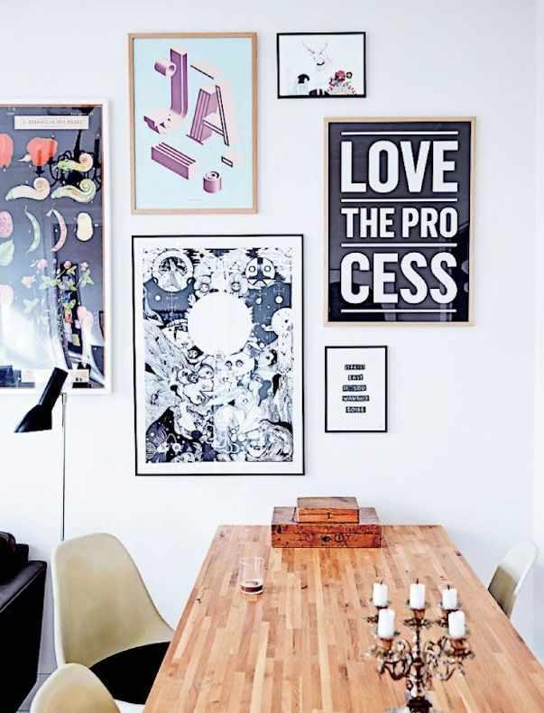 Arte y cuadros en la decoración de un depto de 3 ambientes 3