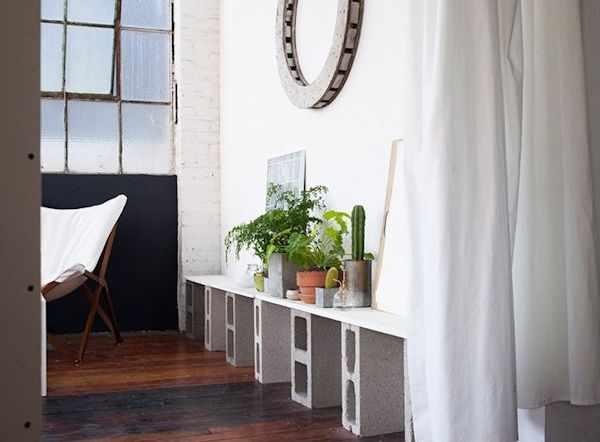 Lofts estilo industrial: estudio de una diseñadora gráfica 5