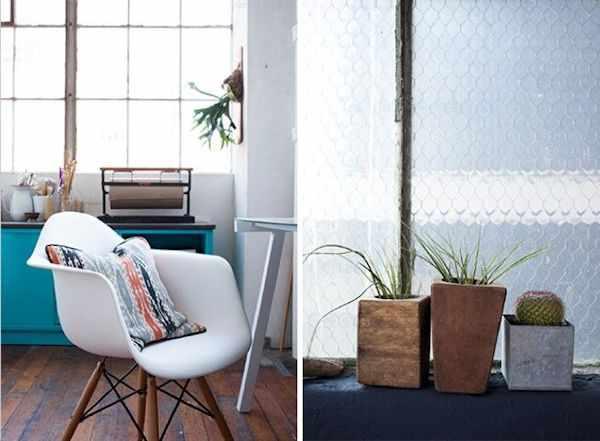 Lofts estilo industrial: estudio de una diseñadora gráfica 7