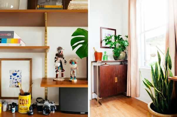 Decoración antes y después living pequeño 10