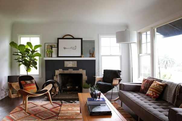 Decoración de casas pequeñas: mezcla de estilos y sencillez 1