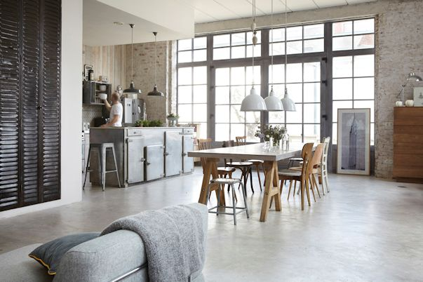 Loft de estilo industrial como vivienda familiar 4