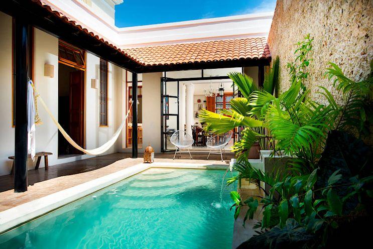 Diseño de exteriores: patios modernos con pileta 3