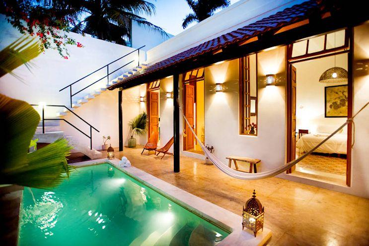 Diseño de exteriores: patios modernos con pileta 6