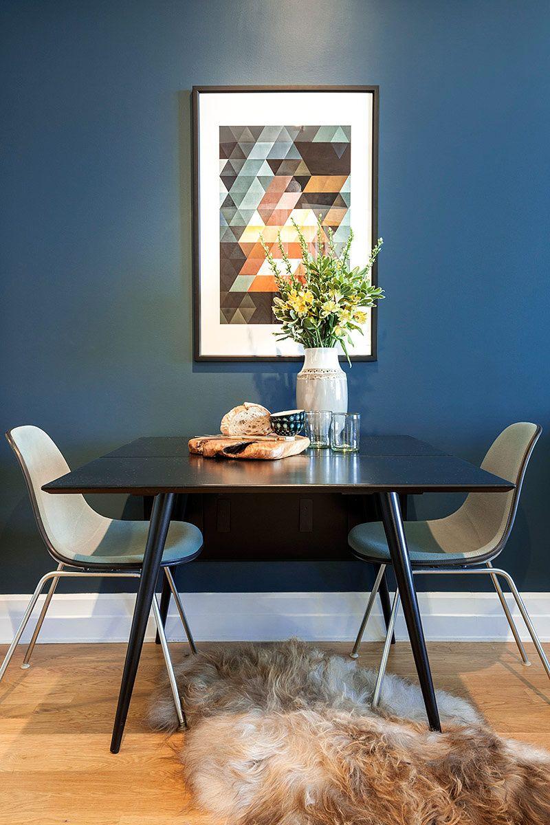 Decoraci n departamento peque os combinando estilos y for Salas modernas para departamentos pequenos