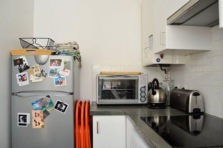 Deco nórdica y vintage en un departamento pequeño de 42 metros 10