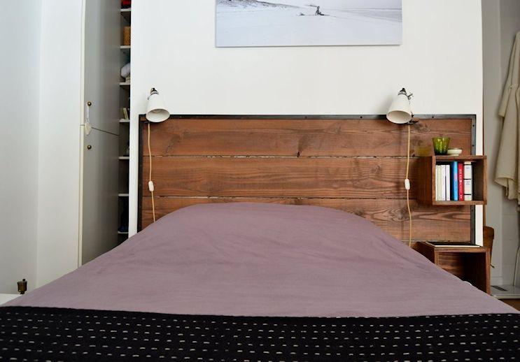 Deco nórdica y vintage en un departamento pequeño de 42 metros 12