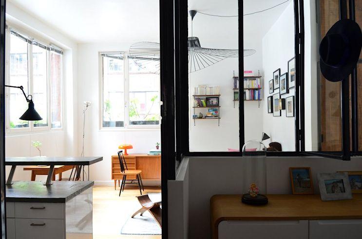 Deco nórdica y vintage en un departamento pequeño de 42 metros 16