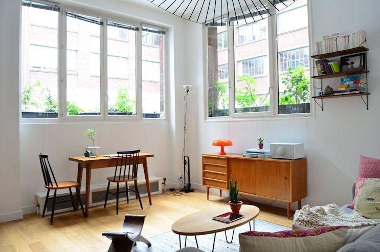 Deco nórdica y vintage en un departamento pequeño de 42 metros 2